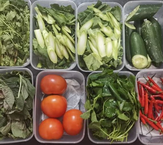 Tips untuk sayur kekal segar