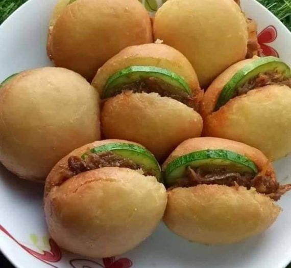 Resepi Pau Sambal @ Burger Malaysia