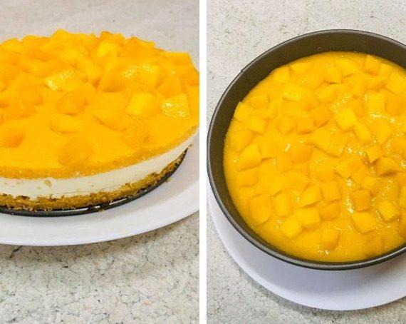 Resepi Mango Cheesecake