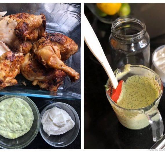 Resepi Mayonis Parsley dan Sos Bawang Putih Homemade