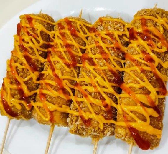 Resepi viral Mozzarella Crunch Corndog