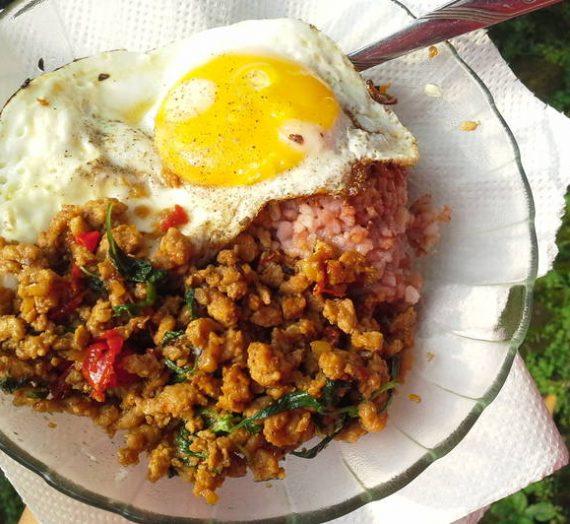 Cara Untuk Membuat Masakan Ayam Phad Kra Phao