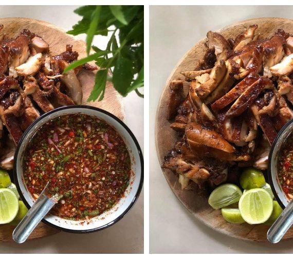 Resepi Ayam Bakar Meraung yang tersangat sedap. Tengok gambar pun dah terliur.