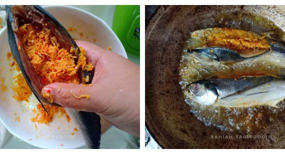 Resepi Ikan Cencaru Kelapa Belah Belakang