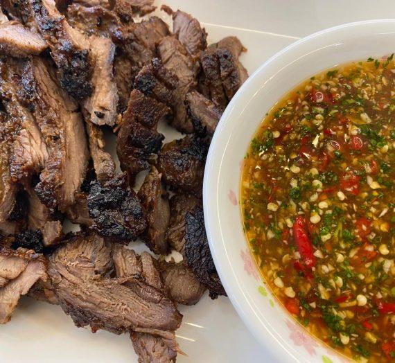 Resepi Daging Danok dan Sos Ala Thai