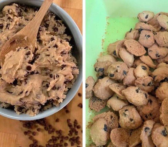 Cara untuk membuat Biskut Chocolate Chip Ala-ala Famous Amos