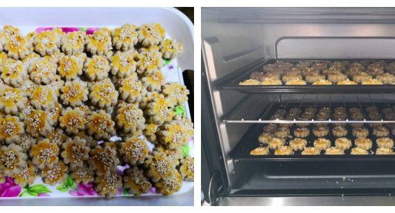 Cara Membuat Biskut Kacang Mazola