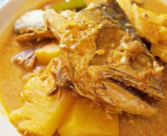 Resepi dan Cara Membuat Gulai Nanas Ikan Talang Tumis Darat