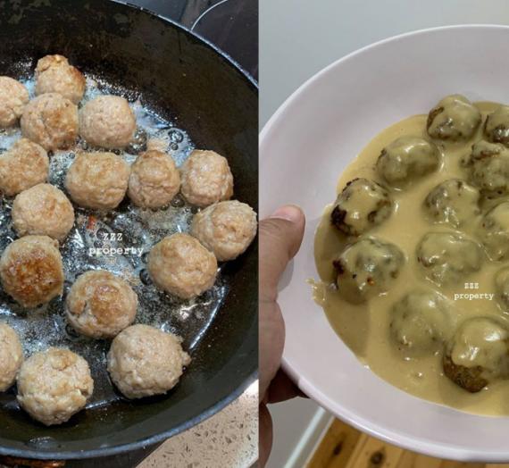 Resepi dan Cara Membuat Meatball Ala-ala IKEA