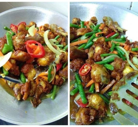 Cara dan Resepi Untuk Membuat Ayam Goreng Kunyit yang sedap