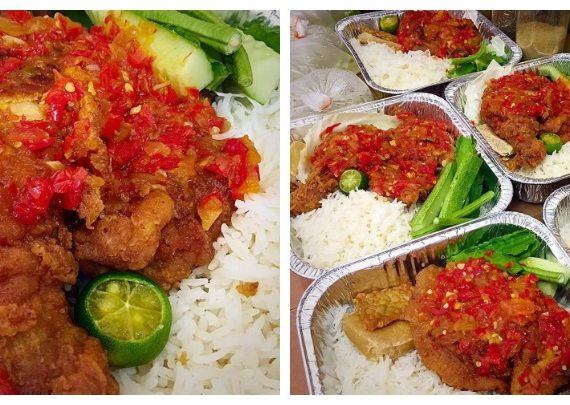 Resepi dan Cara untuk Membuat Nasi Ayam Geprek