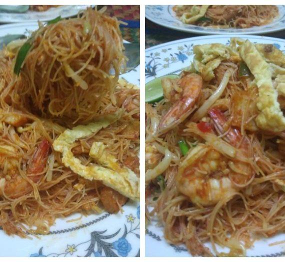 Resepi dan Cara Membuat Bihun Goreng Siam