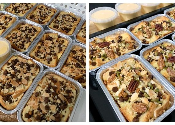 Resepi Bread Butter Pudding (Versi Bakar)