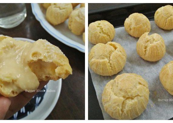 Cara dan Resepi Untuk Membuat Cream Puff Custard