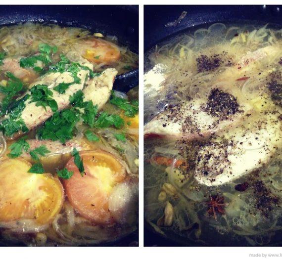 Cara membuat Sup Ikan Merah yang Simple tapi Sedap