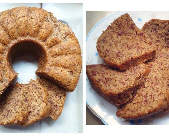 Cara membuat Kek Pisang dengan Mudah