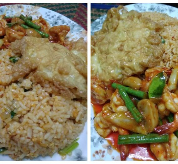 Resepi Nasi Goreng Padprik Udang Cara Thai