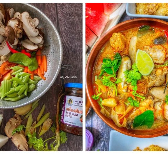 Resepi dan Cara untuk membuat Tomyam Sayur Thai