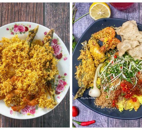 Resepi dan Cara Membuat Ikan Celup Tepung serta Tips membuat tepung goreng yang rangup