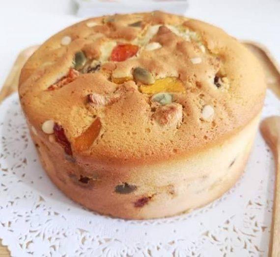 Cara membuat Kek Buah (Fruit Cake)