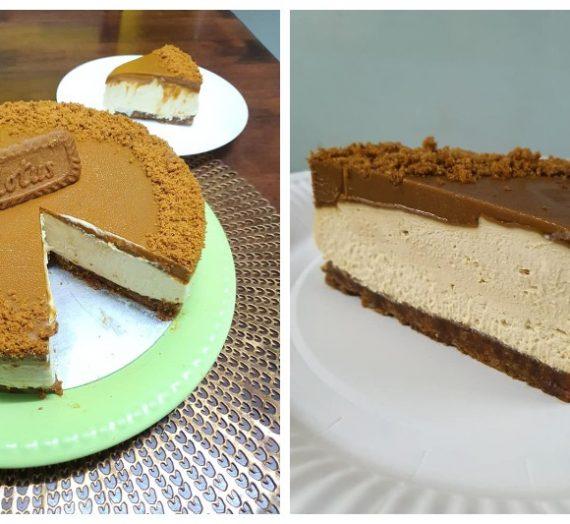 Resepi Lotus Biscoff Cheesecake yang Viral. Kesedapan terjamin