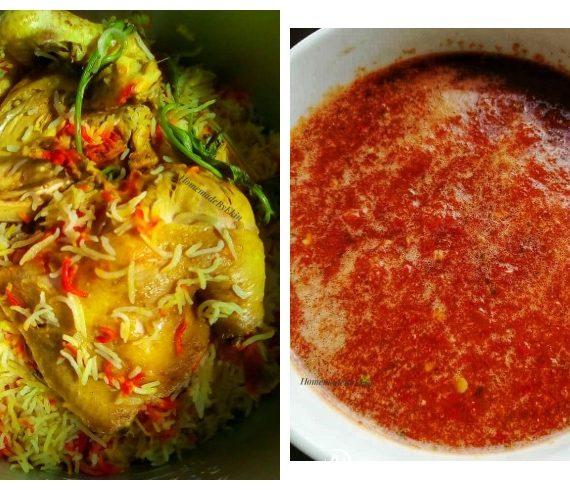 Resepi dan Cara membuat Nasi Arab