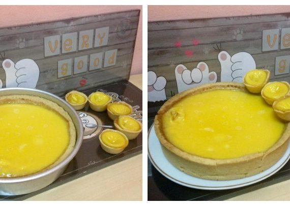 Cara untuk membuat Egg Tart atau Tart Telur