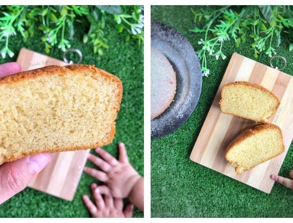 Mini Kek Span Vanilla yang mudah untuk dibuat