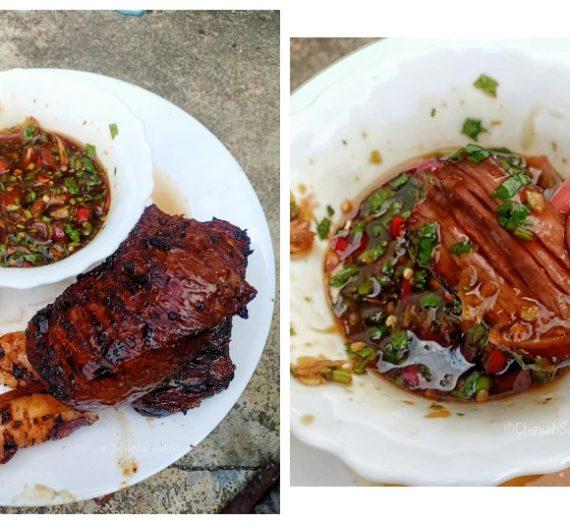 Cara membuat Daging Bakar Ala Thai yang menyelerakan