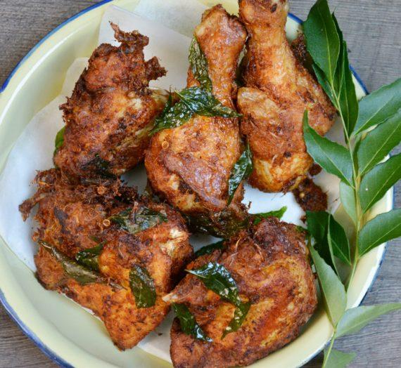 Resepi Ayam Goreng Berempah yang garing dan sedap