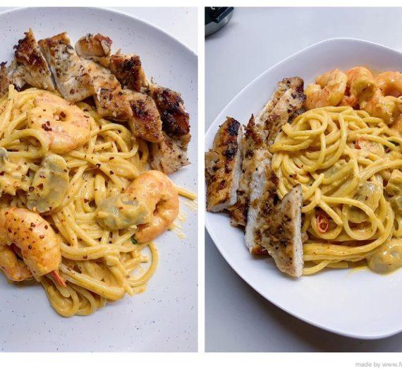 Resepi Spaghetti Carbonara Tomyam yang sangat sedap. Tak rugi punya.