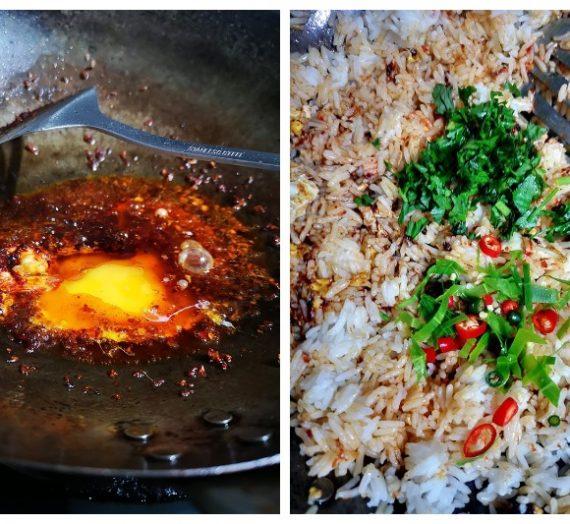 Cara untuk membuat Nasi Goreng Tomyam yang sedap dan menarik