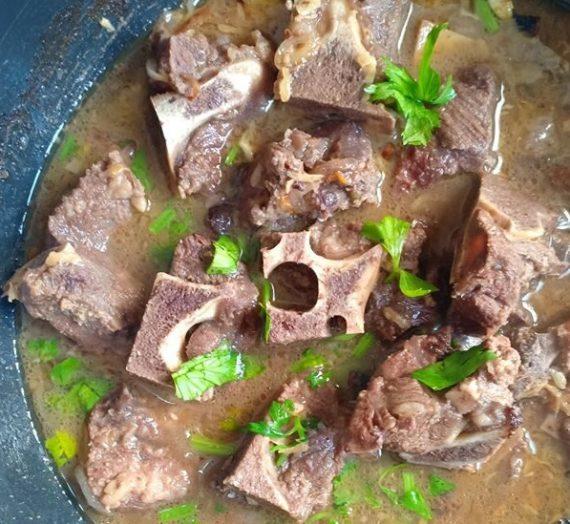 Resepi Sup Tulang Adabi yang sedap dan ringkas