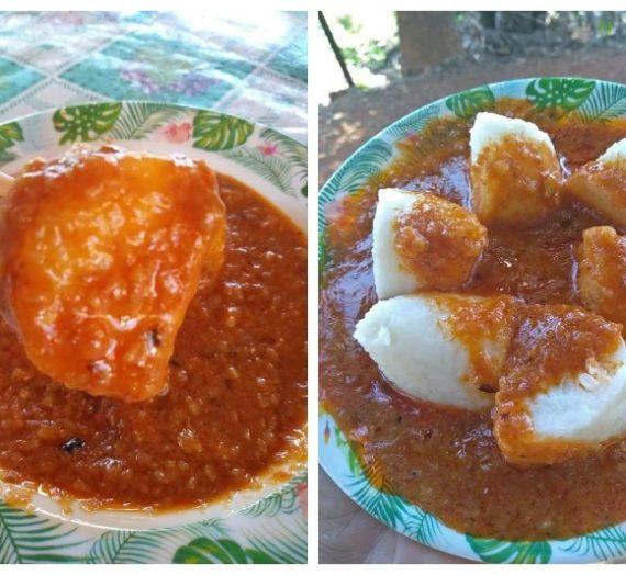 Resepi Kuah Kacang mudah. Sangat sesuai untuk dimakan bersama nasi himpit dan sate.