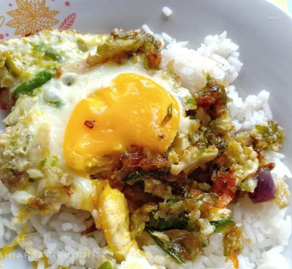 Resepi Bujang – Telur Mata Sambal Hijau