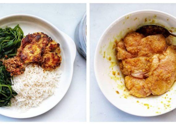 Cara membuat Ayam Masak Ungkep Versi Makanan Sihat