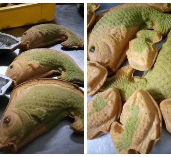 Cara membuat Kuih Bahulu acuan Ikan