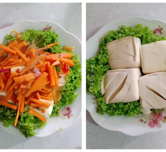 Resepi Diet Tauhu Kukus Lembut Super Sedap