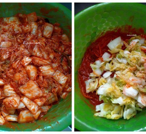 Resepi dan cara membuat Kimchi