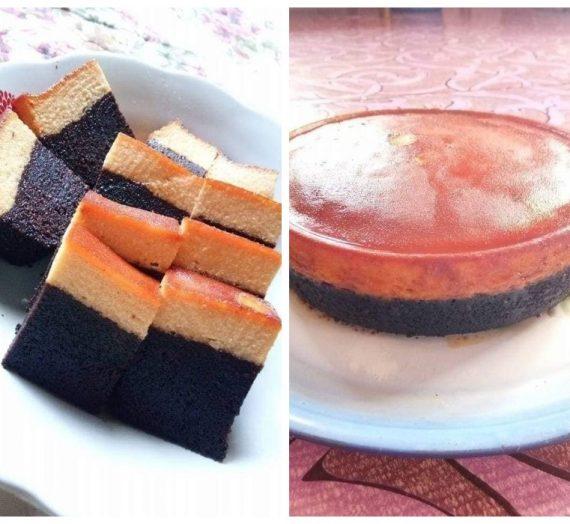Resepi Kek Karamel Coklat Moist
