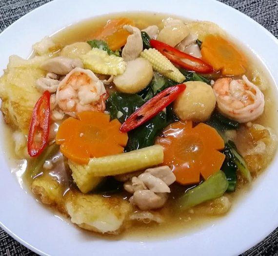 Resepi Kuey Teow Kungfu. Sangat enak dimakan panas-panas bersama keluarga.