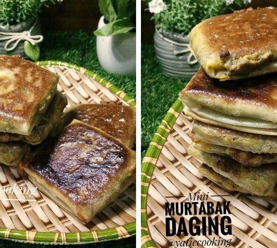 Resepi Murtabak Mini yang mudah dan cepat disediakan