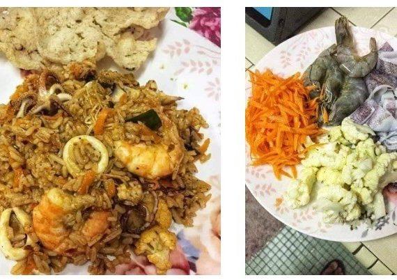 Resepi Nasi Goreng Tomyam Mudah dan Sedap. Menu terbaik untuk seisi keluarga.