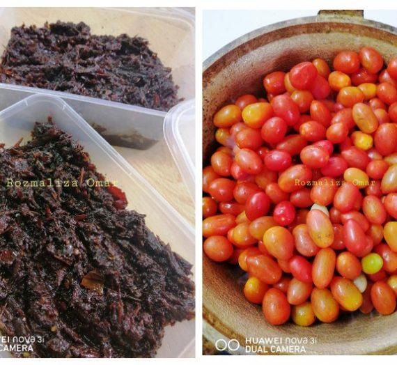 Resepi Sambal Hitam Tomato yang menyelerakan
