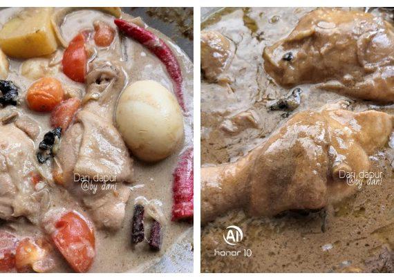 Cara untuk membuat Ayam Masak Kurma yang menyelerakan