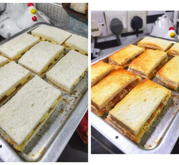 Cara untuk membuat Roti Bakar anda terlajak sedap dan garing.