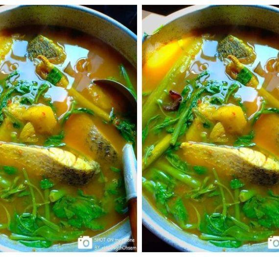 Cara untuk membuat Ikan Siakap Masak Kengsom yang padu dan terbaik.