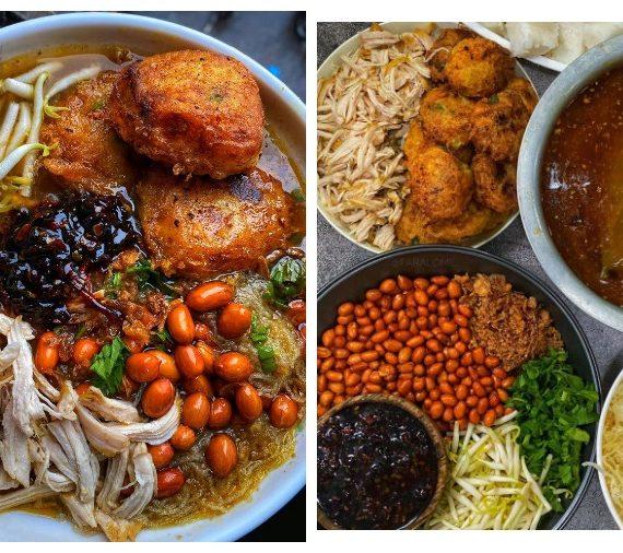 Cara lengkap untuk membuat Soto Ayam bersama Begedil dan Sambal Kicap