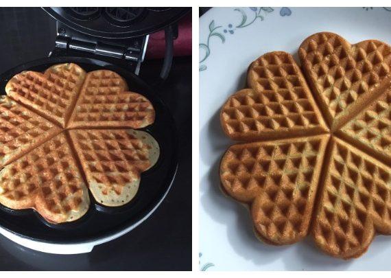Cara mudah untuk membuat Waffle yang rangup dan gebu didalamnya.