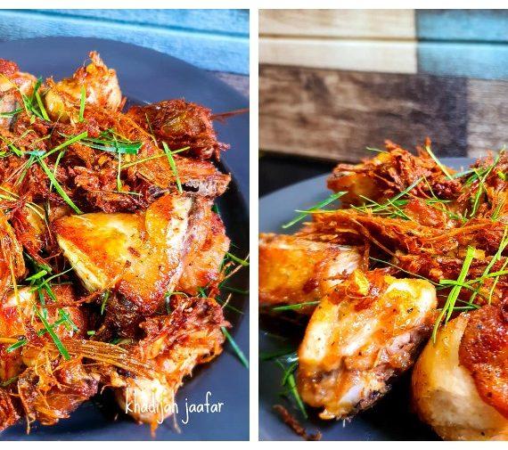 Cara untuk membuat Ayam Goreng Serai Thai yang luar biasa sedapnya.